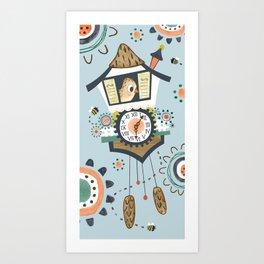 Cuckoo! Art Print