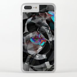 Uneasy Clear iPhone Case