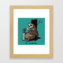 Procaffeination Framed Art Print