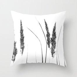 Calamagrostis Stricta Throw Pillow