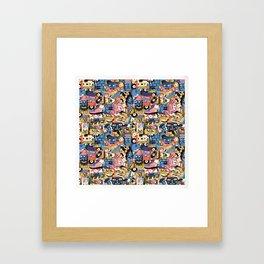 Members Only Framed Art Print