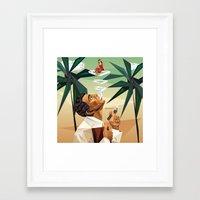 cuba Framed Art Prints featuring cuba by DesignGeo