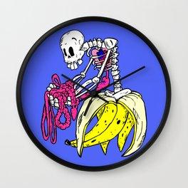 Banana Bones Wall Clock