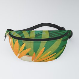 Exotic Garden Nightscape / Tropical Night Series #2 Fanny Pack