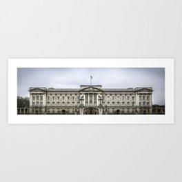 Buckingham Palace Panorama London England Art Print