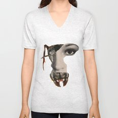 Ant Face Unisex V-Neck