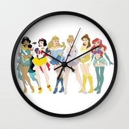 Pretty Pretty Princess Scouts Wall Clock