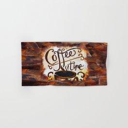 Coffee Time Hand & Bath Towel