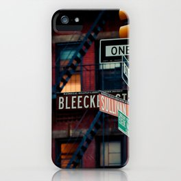Bleecker & Sullivan Street iPhone Case