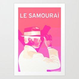 Le Samourai 1  Art Print