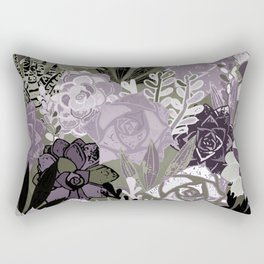 Succulents Art Rectangular Pillow
