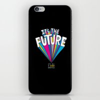 future iPhone & iPod Skins featuring The Future by Chris Piascik