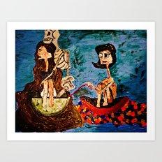 Charolette Art Print