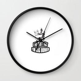 Big Boned Wall Clock