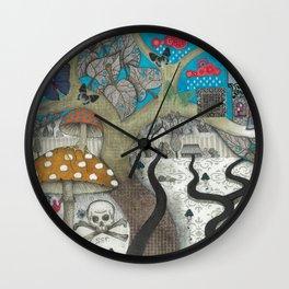 """""""Tree"""" Wall Clock"""