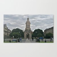 college Canvas Prints featuring Trinity College by Stephany Forsythe