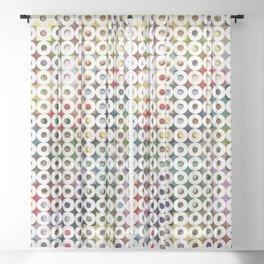247 Toilet Rolls 18 Sheer Curtain