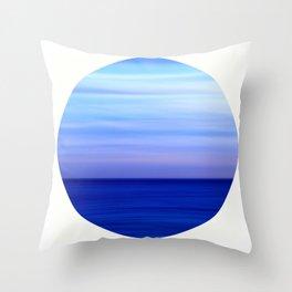 Ocean Horizontal Throw Pillow