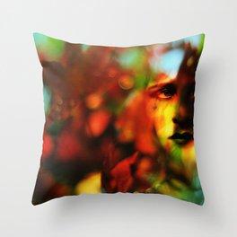 Autumnal Throw Pillow