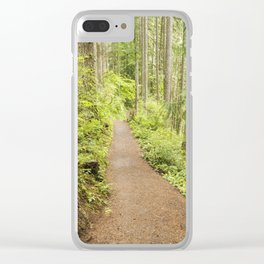 Walking the Rim Clear iPhone Case