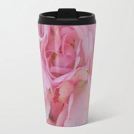 Pink Rose 6 Travel Mug