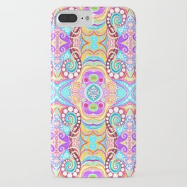 Light Blue Symmetry iPhone Case