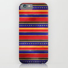 Stripes and Dots iPhone 6 Slim Case