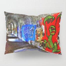 Graffiti Tunnel Pillow Sham