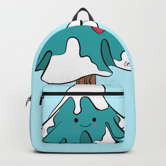 Cute pine tree Backpack