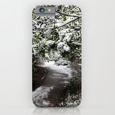 Snowy Path in The Trees iPhone 6s Slim Case