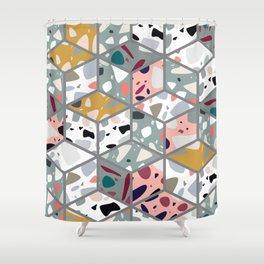 Terrazzo 033 Shower Curtain