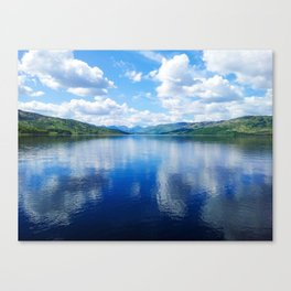 Loch Katrine: The Trossachs Canvas Print