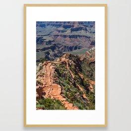 South Kaibab Trail Framed Art Print