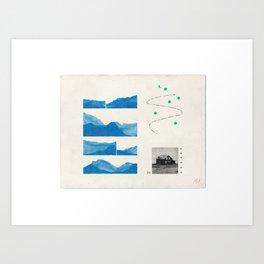 Eyjafjörður Art Print