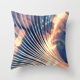 Slinky Abstract Throw Pillow