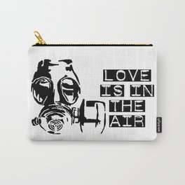 Love is in the air gas mask Carry-All Pouch