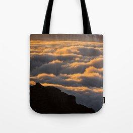 Sunset in La Palma Tote Bag