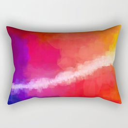 For the Love of Color Rectangular Pillow