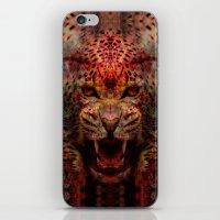 jaguar iPhone & iPod Skins featuring Jaguar by Zandonai