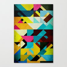 Colorful Game Canvas Print