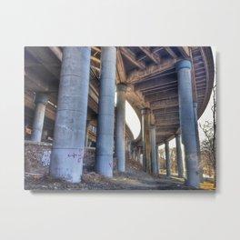 Riverside Drive Metal Print