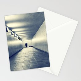 Guitar Player Stationery Cards