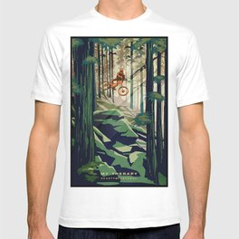 MY THERAPY MOUNTAIN BIKE POSTER T-shirt