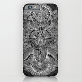 Etched Offering II iPhone Case
