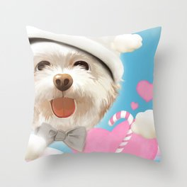 Your Smile Throw Pillow