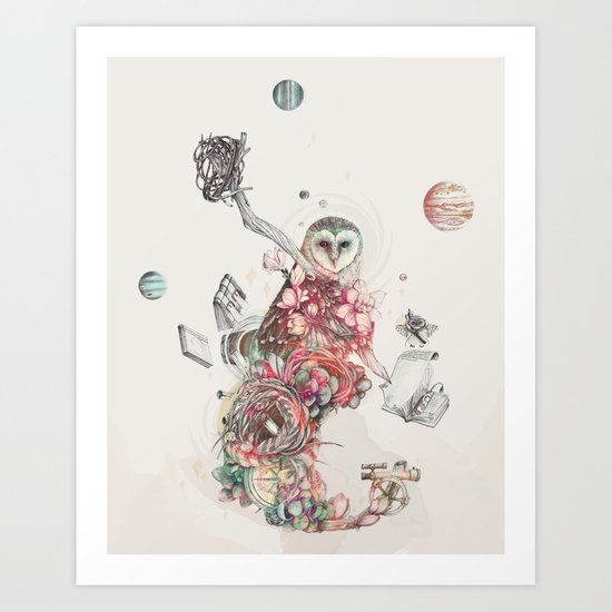 Source of All Knowledge Art Print