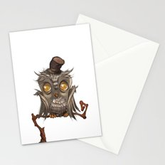 It surely was a hoot! Stationery Cards