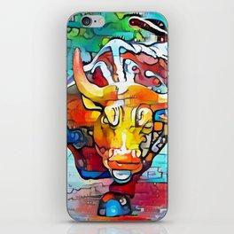 Wall Street Bull iPhone Skin