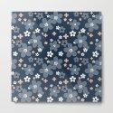 Blue floral pattern . by fuzzyfox85