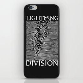 Lightning Division iPhone Skin